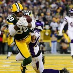 Jermichael Finley is unable to make a catch in the end zone against the Minnesota Vikings in the second quarter of the NFC Wild Card playoff game at Lambeau Field. Though he dropped this pass, Finley's production in the second half of 2012 was solid. Andrew Weber-USA TODAY Sports photograph