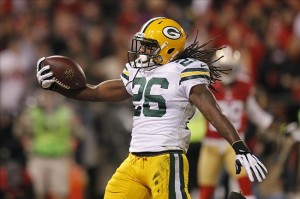 Green Bay Packer Running Back DuJuan Harris