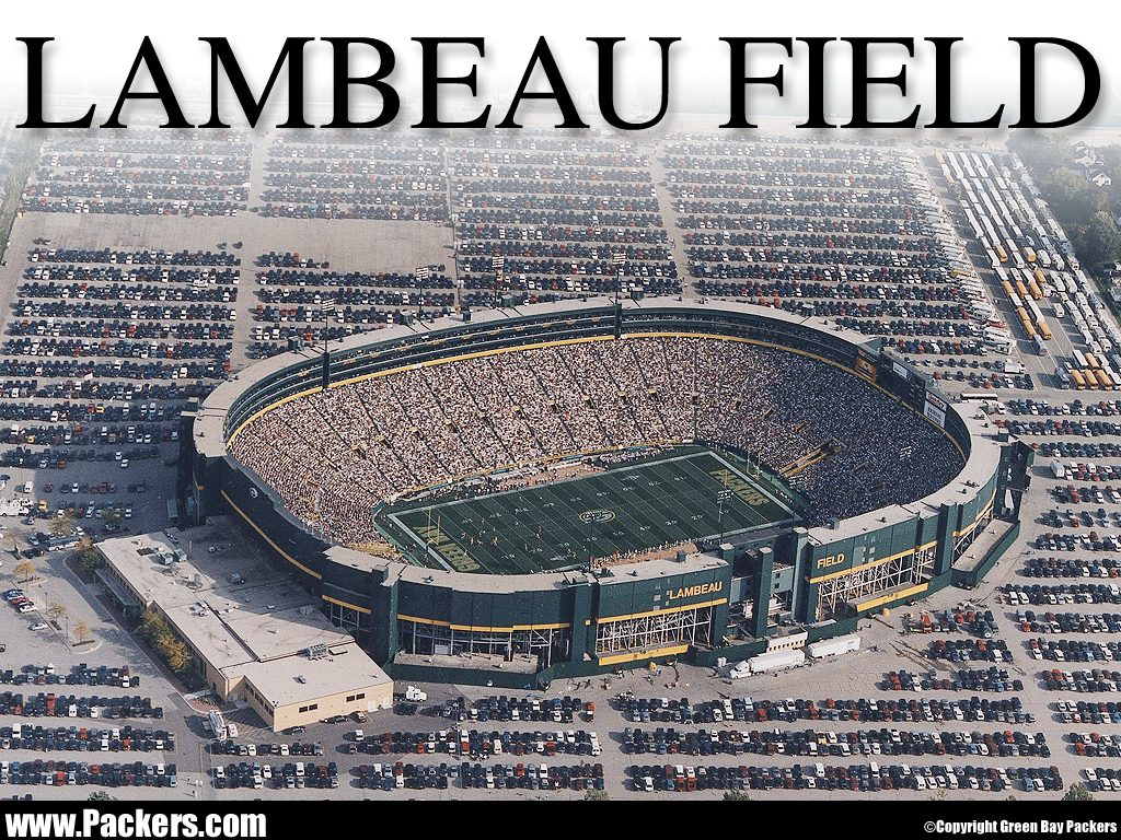 If you're traveling to Lambeau Field (pictured from years past) today, you might want to check out the information here provided by WisDOT.