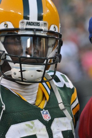 James Jones, though a valuable Packer, might be allowed to walk in free agency. Raymond T. Rivard photograph