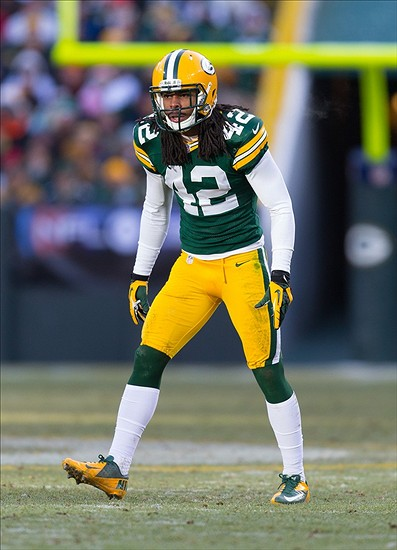 Morgan Burnett had a pretty sweet celebration. And the Packers put ...