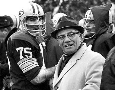 """WHAT THE HELL! "" Vince Lombardi. Photo Credit: USA Today Sports Images"