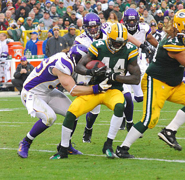 James Starks: Is he the player the Packers could trade away? Raymond T. Rivard photograph