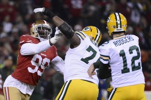 Marshall Newhouse is almost certain to once again be on Aaron Rodgers' blindside