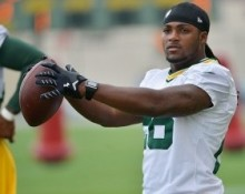 DuJuan Harris is vying for one of the Packers running back positions. Benny Sieu-USA TODAY Sports photograph