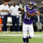 Minnesota Vikings Wide Receiver Greg Jennings