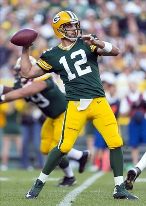 Green Bay Packer Quarterback Aaron Rodgers