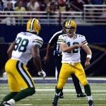 Aaron Rodgers pass to Jermichael Finley