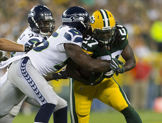 A successful Eddie Lacy could lead to a well-stirred offensive attack by the Green Bay Packers. Jeff Hanisch-USA TODAY Sports photograph