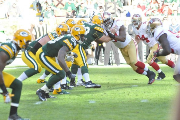 The Green Bay Packers will go head-to-head with the San Francisco 49ers today at 3:25 p.m. CDT. Are you ready? We are ... and we have our predictions below. Raymond T. Rivard photograph