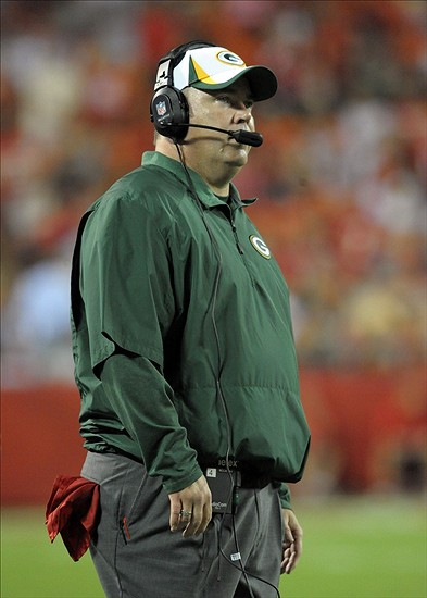 Packers head coach Mike McCarthy Denny Medley-USA TODAY Sports photograph