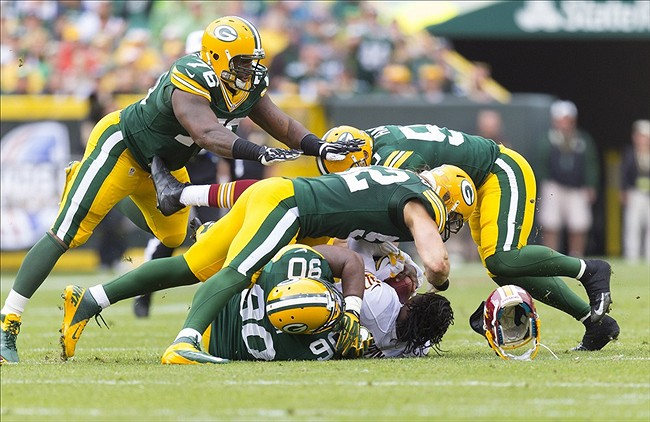 The Green Bay Packers up-and-down performance over the first three weeks of the season will benefit the team in the long-term. Jeff Hanisch-USA TODAY Sports photograph