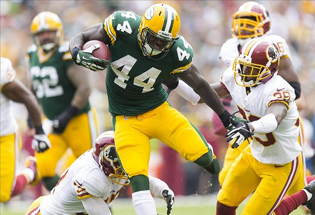 With the injuries suffered to the Packers at the running back position, including James Starks, one wonders about whether they have enough depth at the position. Jeff Hanisch-USA TODAY Sports photograph