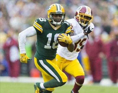 Randall Cobb. Jeff Hanisch-USA TODAY Sports photograph