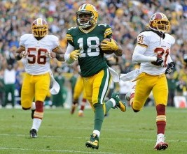 Randall Cobb. Benny Sieu-USA TODAY Sports photograph