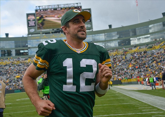 Aaron Rodgers, like every week, will be the difference-maker against the Bengals. Benny Sieu-USA TODAY Sports