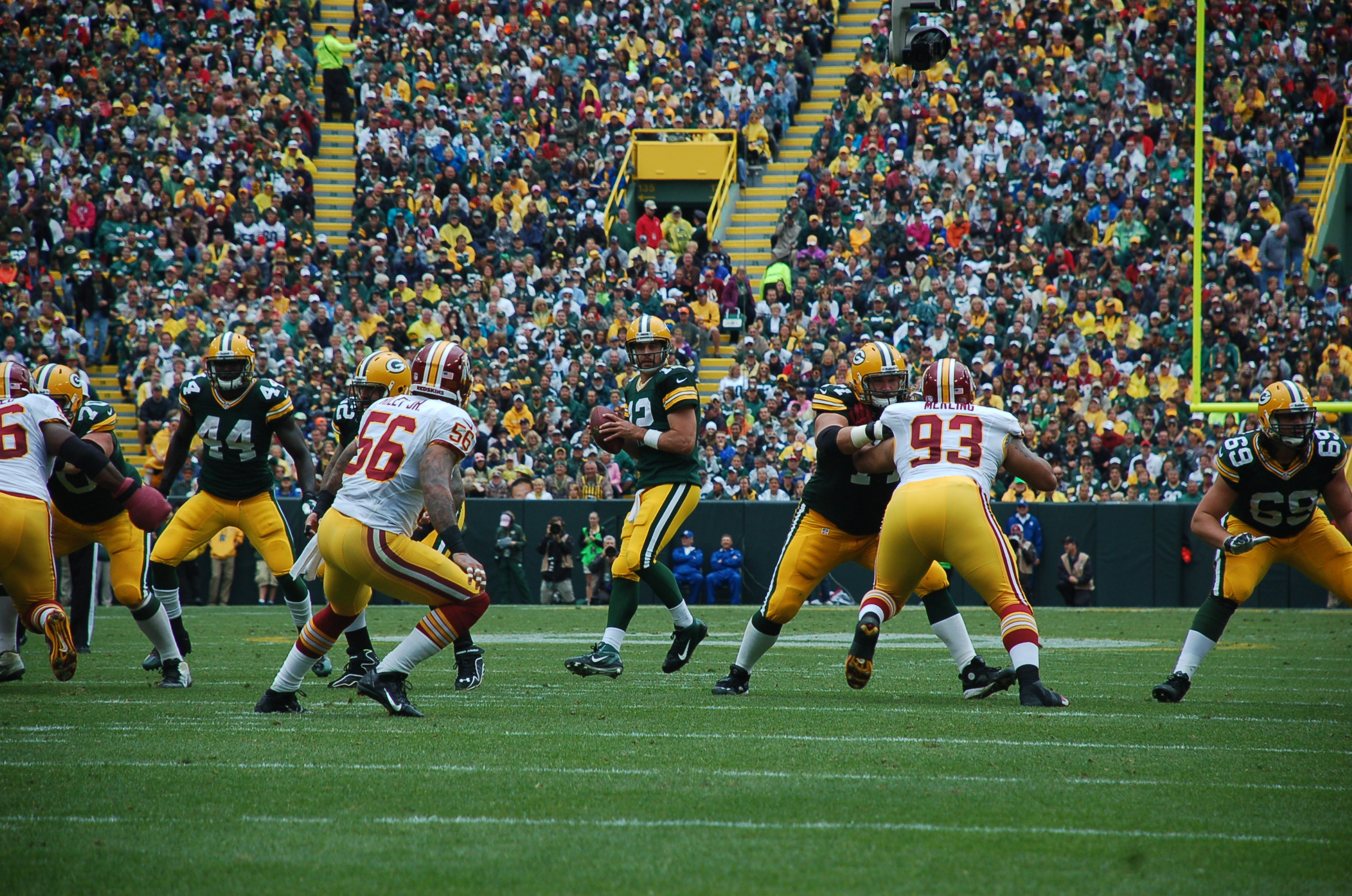 James Starks (left) will start for the Green Bay Packers this coming Sunday.