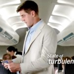 Aaron Rodgers at the start of the newest State Farm commercial.