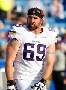 Jared Allen. Kevin Hoffman-USA TODAY Sports photograph