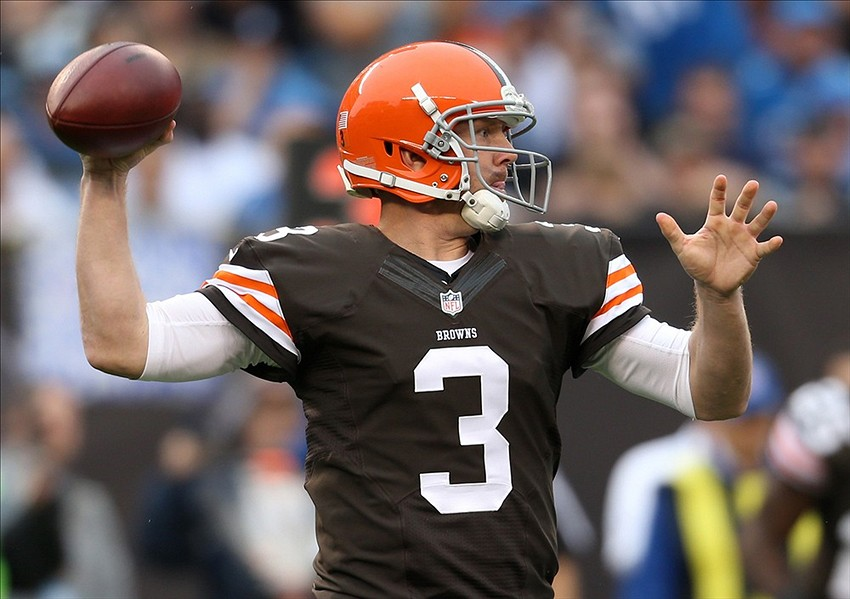 Brandon Weeden Ron Schwane-USA TODAY Sports