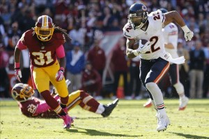 Shutting down Matt Forte will be a key for the Packers. Geoff Burke-USA TODAY Sports photograph