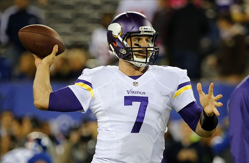 It looks like quarterback Christian Ponder will start next Sunday night against the Packers. Jim O photograph