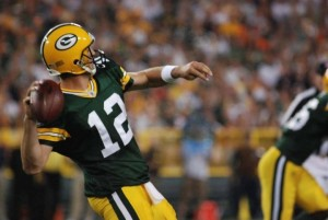 Will Aaron Rodgers get the Packers offense on a roll in the coming weeks? Raymond T. Rivard photograph