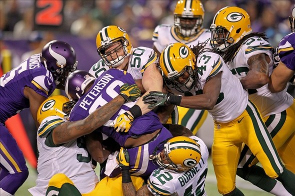 The Packers need to get mean. Brace Hemmelgarn-USA TODAY Sports photograph