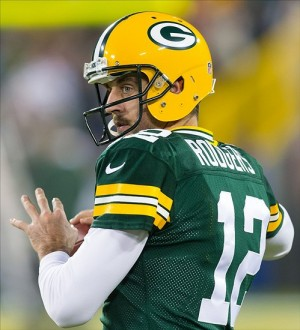 Green Bay Packers quarterback Aaron Rodgers. Jeff Hanisch-USA TODAY Sports