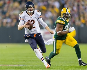 Chicago Bears quarterback Josh McCown Jeff Hanisch-USA TODAY Sports photograph