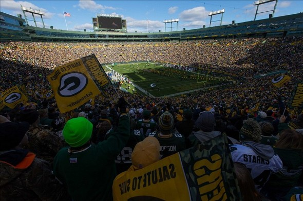 Packers fans are the best in the league. Jeff Hanisch-USA TODAY Sports photograph