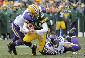 Green Bay Packers quarterback Matt Flynn led a stirring comeback on Sunday at Lambeau Field. Benny Sieu-USA TODAY Sports photograph