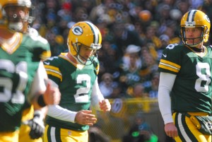 Mason Crosby missed two field goals last Sunday. Raymond T. Rivard photograph