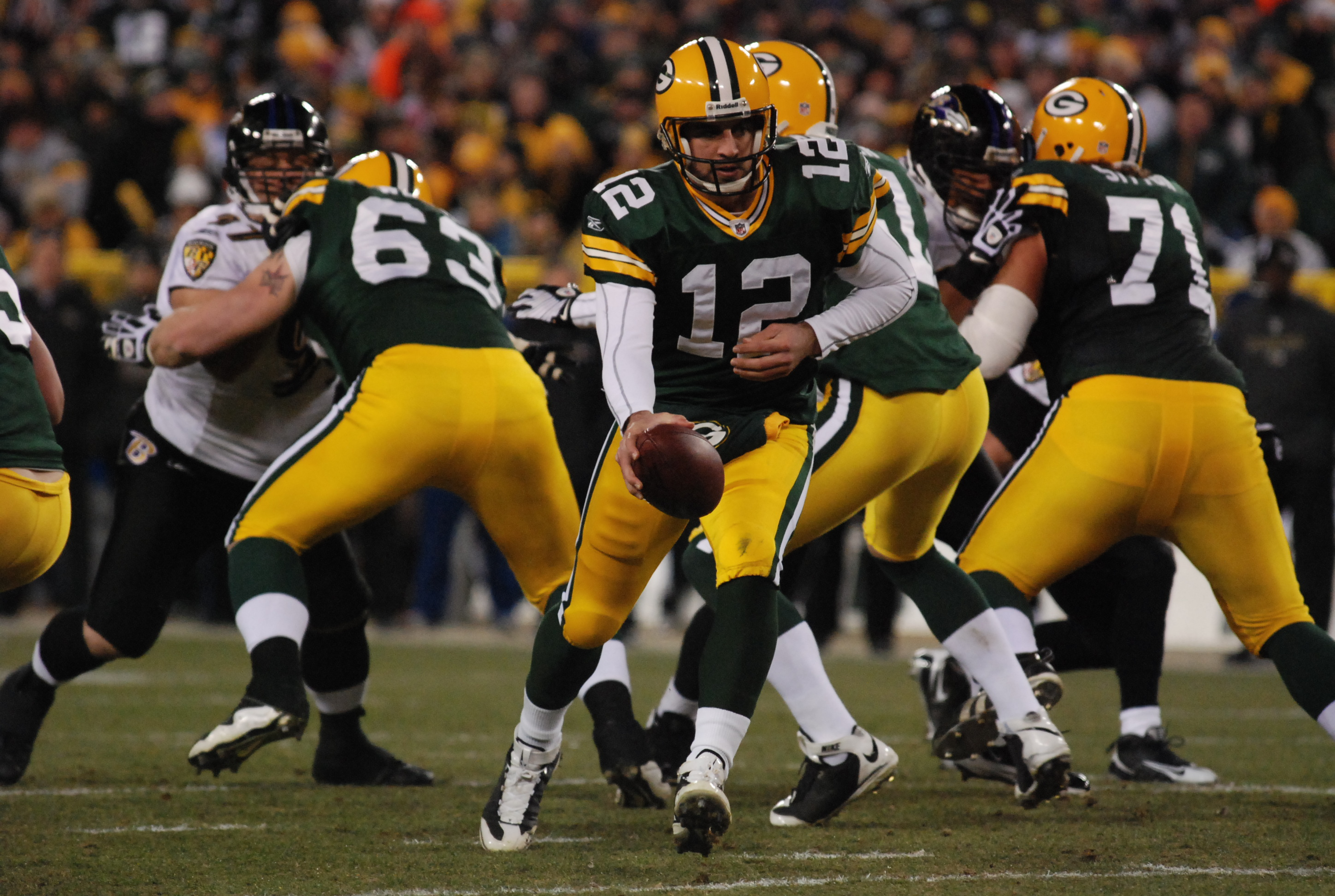 Aaron Rodgers ... what will the near future bring for the Packers' and the NFL's all-world QB? Raymond T. Rivard photograph