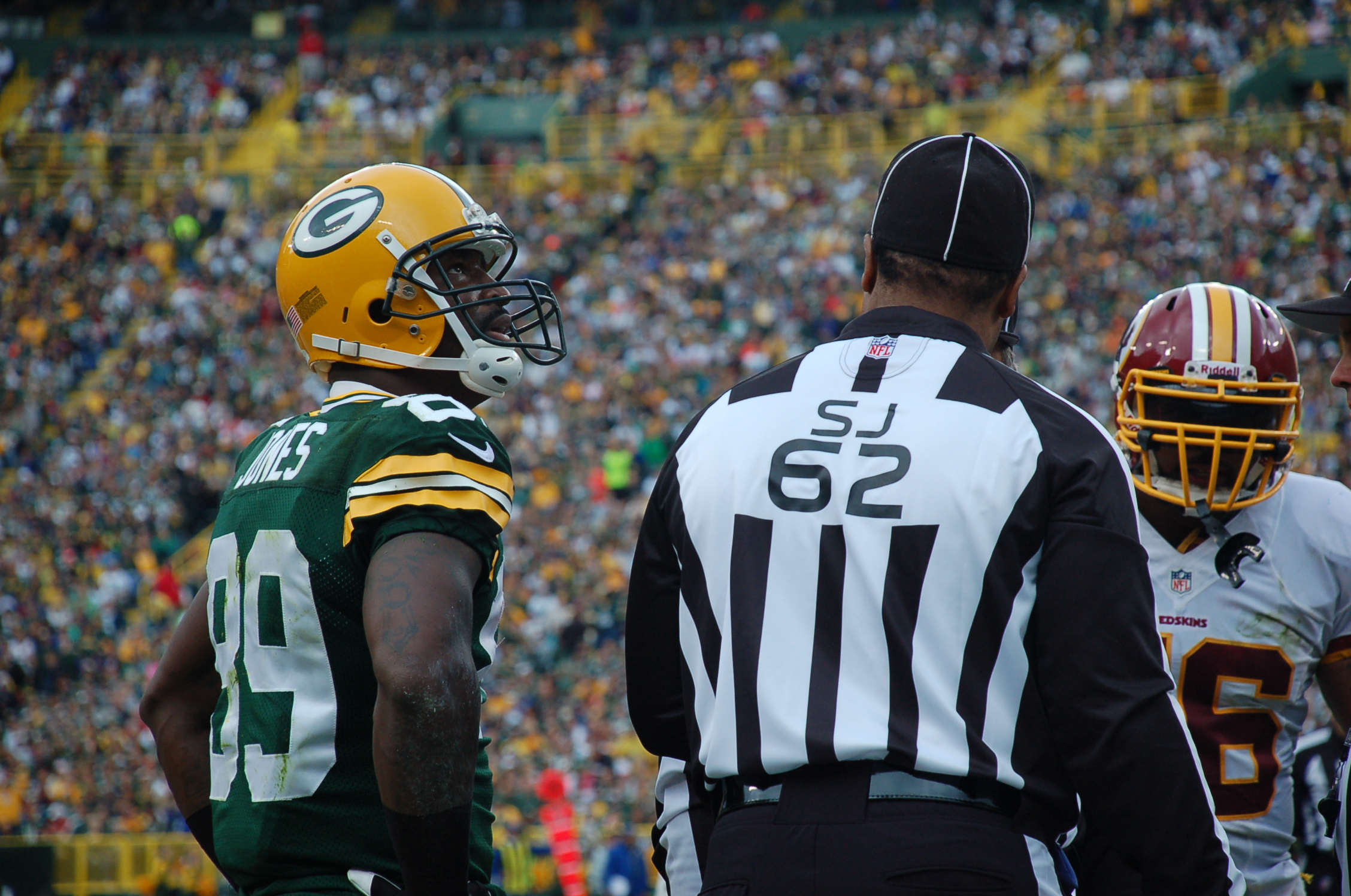 James Jones back on the field would be a good thing for the Green Bay Packers. Brian Jopek photograph