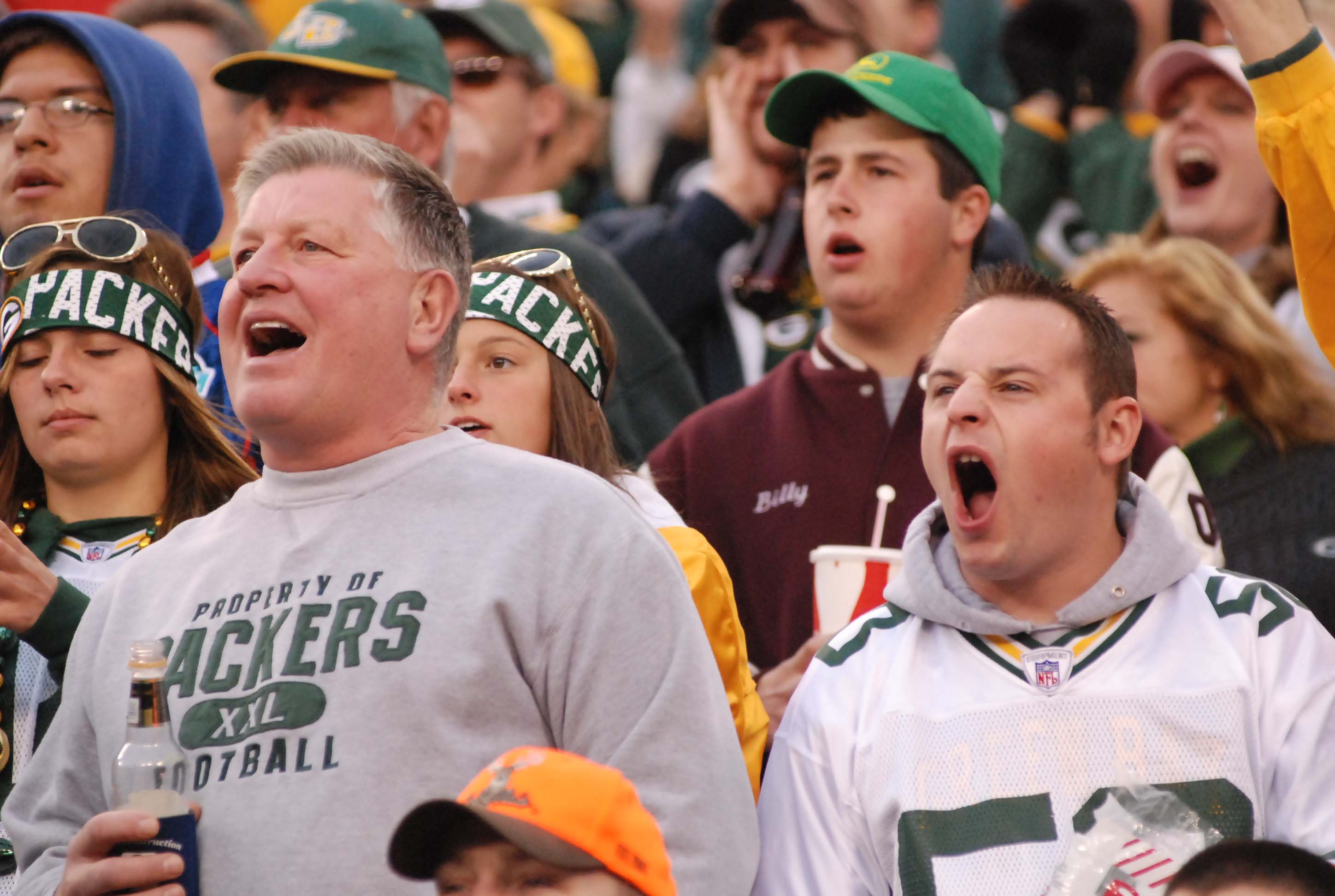 Green Bay Packers fans are hoping for plenty to cheer about in the coming weeks. Raymond T. Rivard photograph