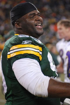 B.J. Raji most likely will not be back for the Green Bay Packers Raymond T. Rivard photograph