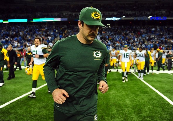 Packers quarterback Aaron Rodgers should sit one more week. Andrew Weber-USA TODAY Sports photograph