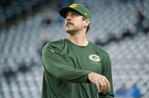 aaron rodgers - green bay packers