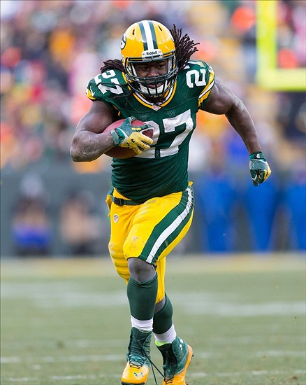 Will Eddie Lacy help lead the Packers to another Super Bowl run? Jeff Hanisch-USA TODAY Sports photograph