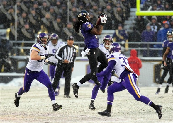 NFL: Minnesota Vikings at Baltimore Ravens