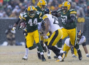 green bay packers - james starks