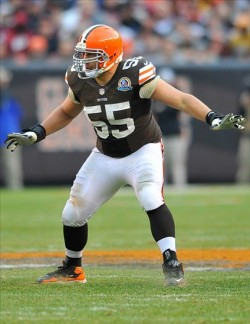 Cleveland Browns center Alex Mack (55). David Richard-USA TODAY Sports photograph