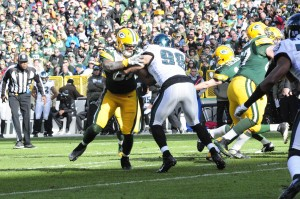 Andrew Quarless is a solid starter should Jermichael Finley not come back to the Packers. Raymond T. Rivard photograph