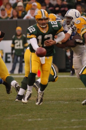 Aaron Rodgers will be around for years to come, but will the window open wide enough for future success? Raymond T. Rivard photograph