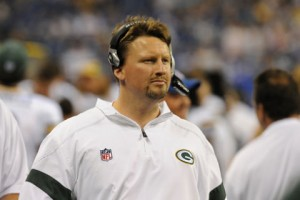 Packers QB coach Ben McAdoo. Photo courtesy of packers.com