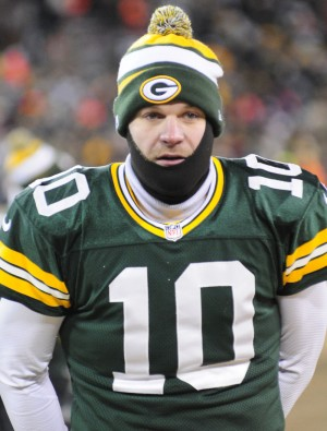 Let's keep Matt Flynn on the sidelines. Raymond T. Rivard photograph