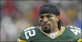 Darren Sharper while with the Packers.