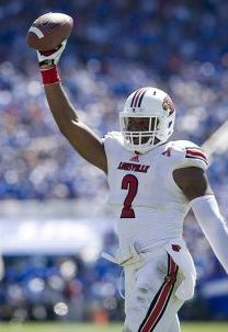 Louisville Cardinals linebacker Preston Brown (2) celebrates. Mark Zerof-USA TODAY Sports