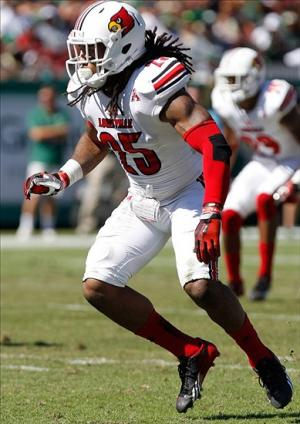 Louisville Cardinals safety Calvin Pryor. Kim Klement-USA TODAY Sports
